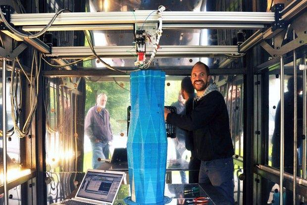 Дом печати: Как в Голландии строят здание с помощью 3D-принтера. Изображение № 4.