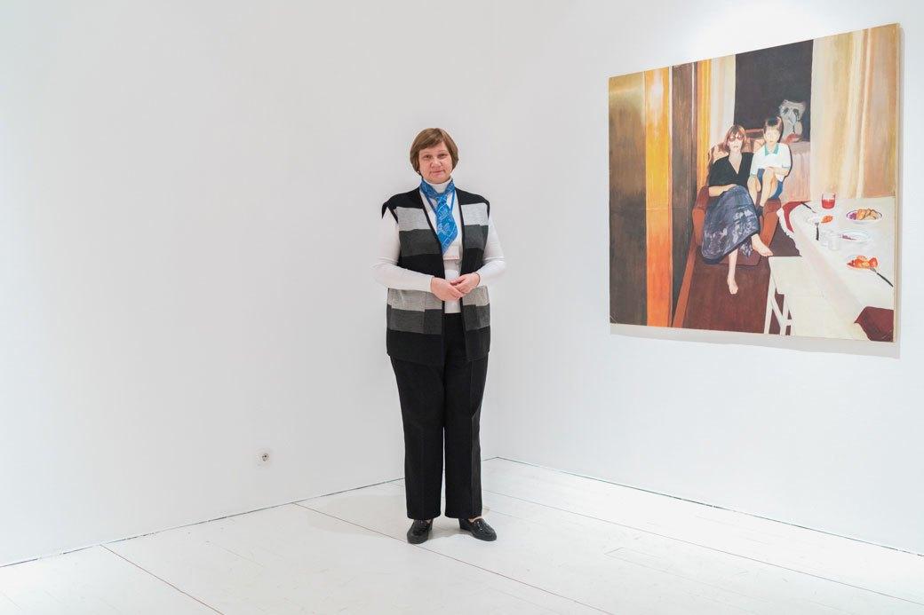 Смотрительницы Музея современного искусства — о своём отношении к экспонатам. Изображение № 4.
