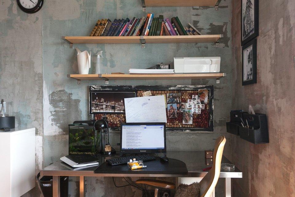 Студия без кухни на Комендантском. Изображение № 7.
