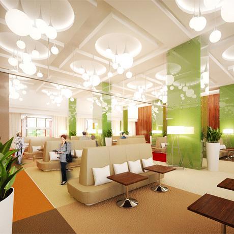 Для комплекса «Парковый» разработали дизайн интерьера. Зображення № 2.