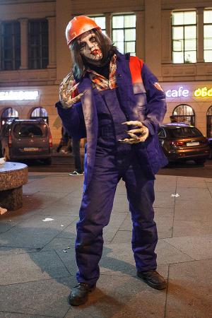 Люди в городе: Хеллоуин вПетербурге. Изображение № 11.