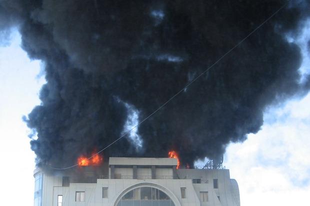 Университет технологии и дизайна на Большой Морской и офис «Газпрома» потушили. Изображение № 5.