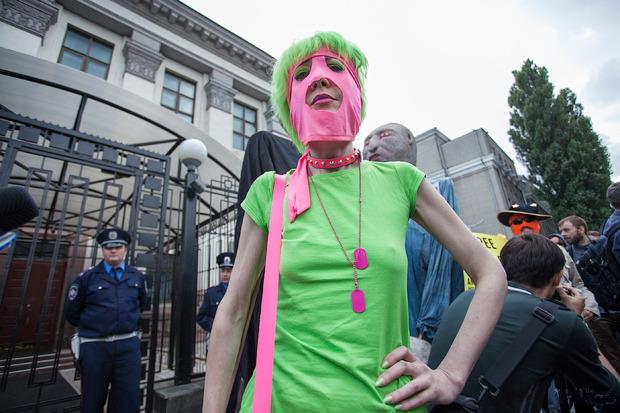 Женский день: Как поддержали Pussy Riot в Киеве. Зображення № 14.