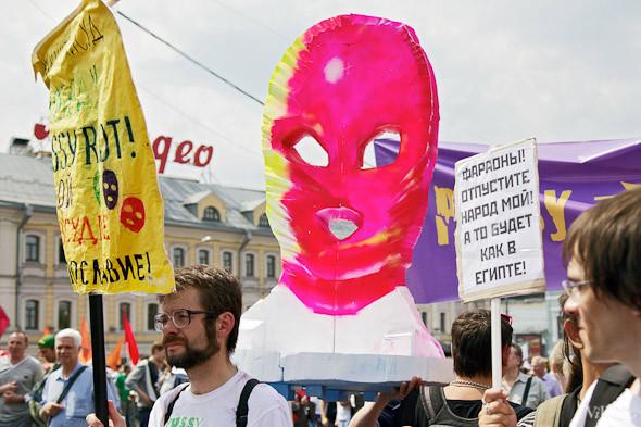 Фоторепортаж: «Марш миллионов». Изображение № 14.