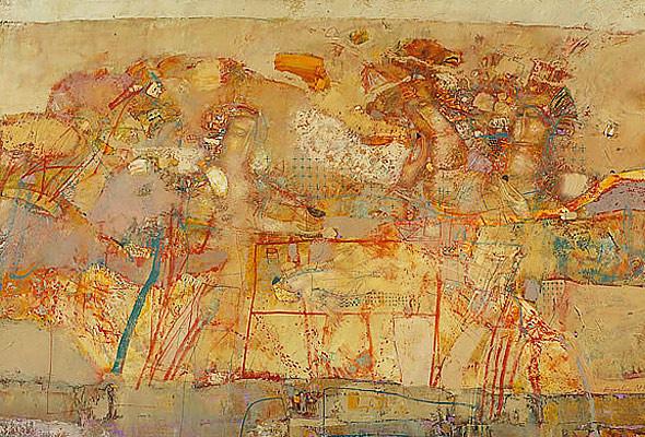 Работы семи современных киевских художников объединили в одной выставке. Изображение № 2.