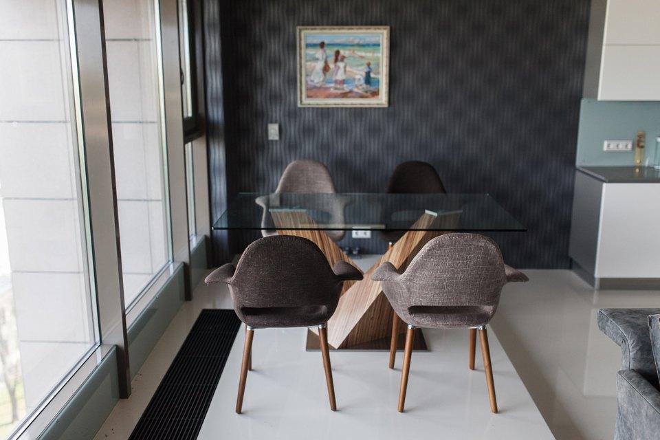 Мужская квартира с панорамным видом на город. Изображение № 18.