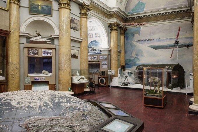 Музей Арктики иАнтарктики останется вздании бывшей Никольской церкви. Изображение № 1.