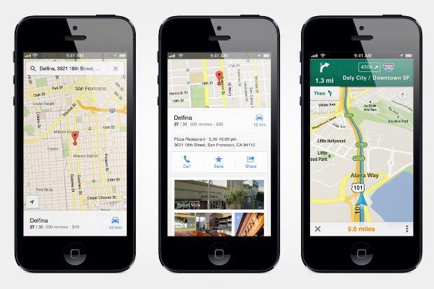 Карты Google вернулись на iPhone. Изображение №1.