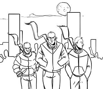 Хранители: Городские супергерои и антигерои. Изображение №7.