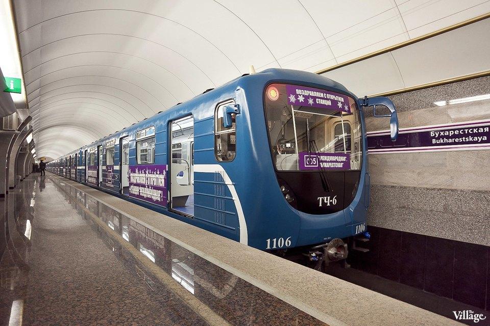 Фоторепортаж: Станции метро «Международная» и«Бухарестская» изнутри. Изображение № 12.