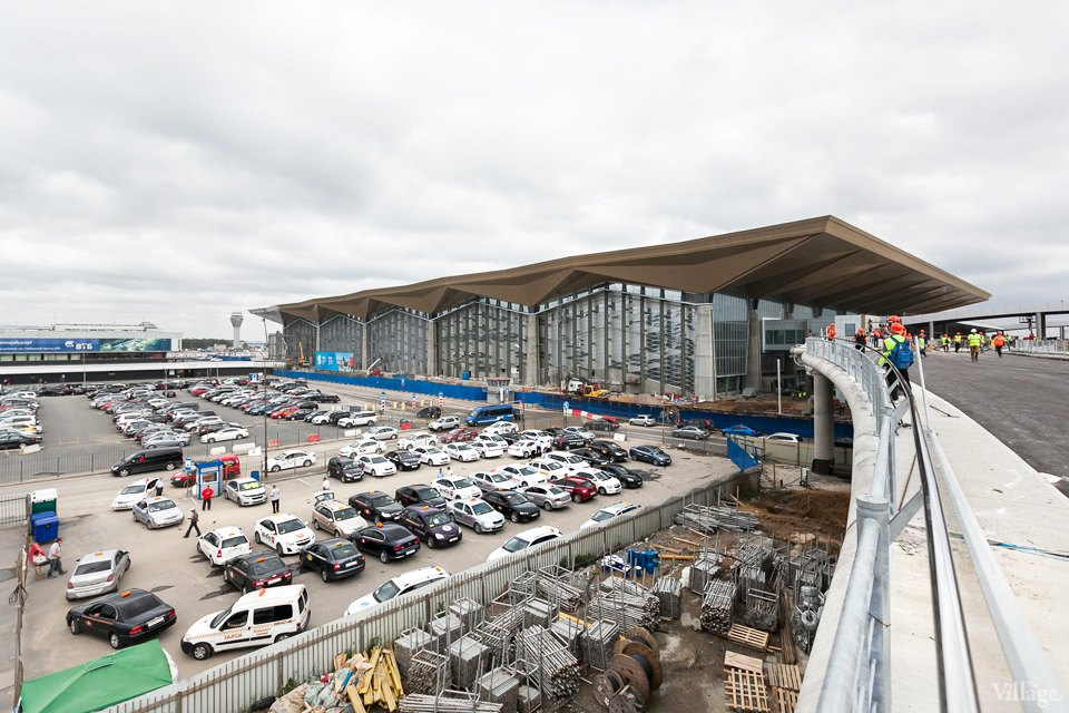 Фоторепортаж: Новый аэропорт изнутри. Изображение №1.