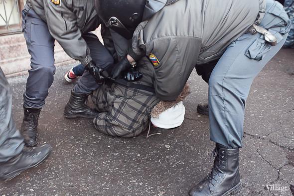 По словам оцевидцев, задержано было около 500 человек. Изображение № 22.