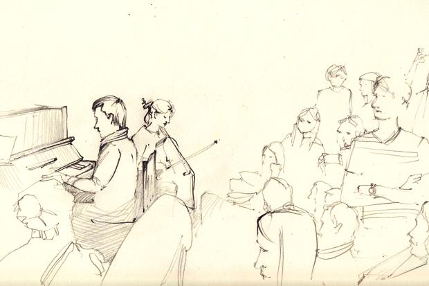 Клуб рисовальщиков: Музыканты. Изображение № 8.