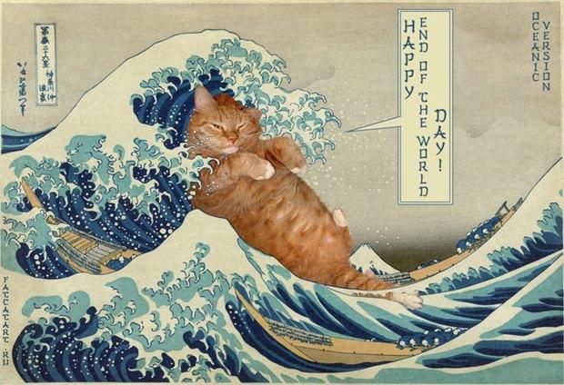 «Большая волна в Канагаве» Кацусики Хокусая. Изображение № 1.