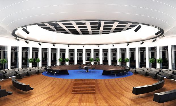 Конференц-зал в надстройке на крыше. Из него можно будет попасть на обзорную площадку, расположенную на крыше здания. Изображение № 6.
