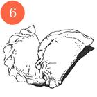 Рецепты шефов: Вареники скапустой. Изображение № 8.