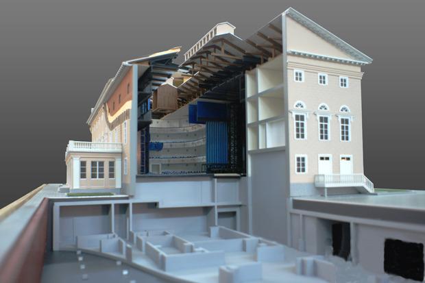 Каменноостровский театр откроется после пятилетний реконструкции. Изображение № 2.