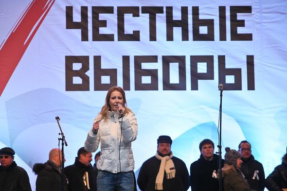 Митинг «За честные выборы» на проспекте Сахарова: Фоторепортаж, пожелания москвичей и соцопрос. Изображение № 53.
