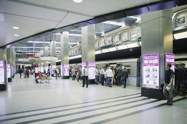 Фото дня: Как выглядит виртуальный супермаркет вметро. Изображение № 9.