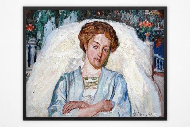 Олекса Новаковский, портрет Ядвиги Голубовской, 1910 год. Изображение № 8.