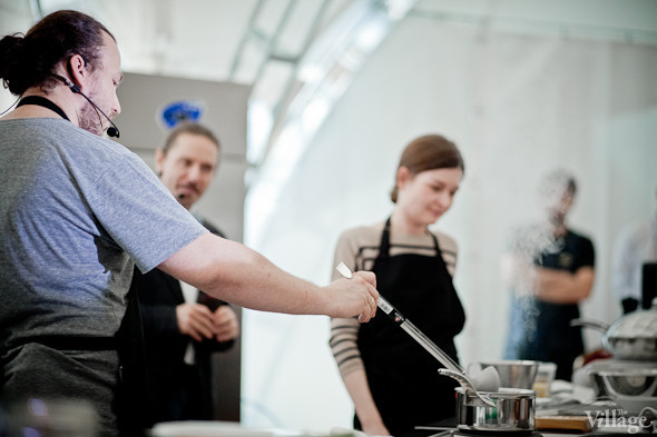 Omnivore Food Festival: Иван Шишкин готовит пеммикан и черемуховые полбяные пряники. Изображение № 10.