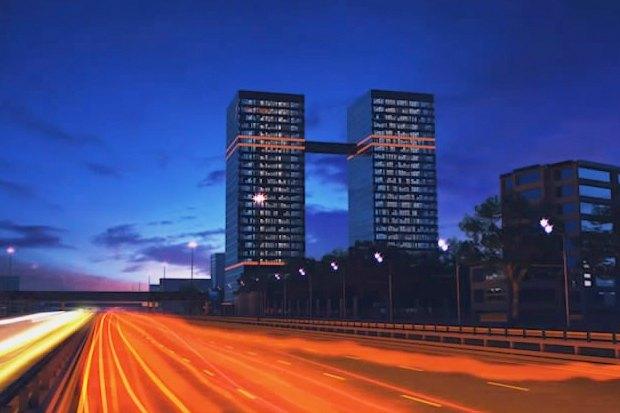 На Ленинградском проспекте открылся известный долгострой. Изображение № 2.