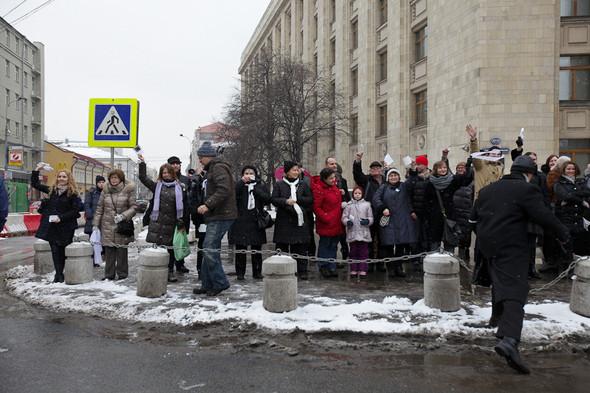 Близкое окружение: Участники акции «Белый круг» о проблемах Москвы. Изображение № 39.