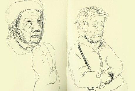 Выставка «Москва вэскизах LAM Sketching Club» впарке «Музеон». Изображение № 9.