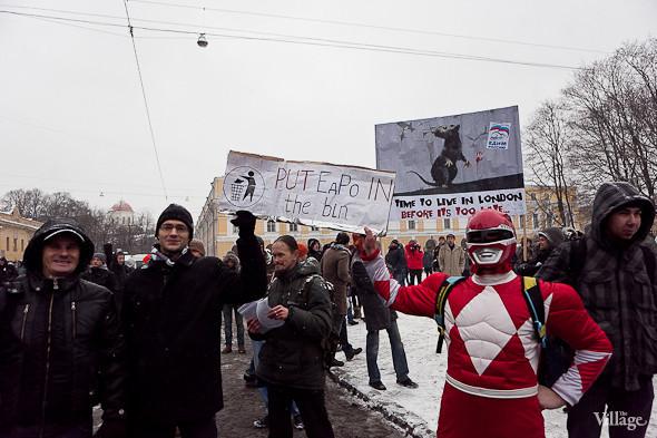 Два санкционированных митинга в Петербурге собрали 2 500 человек. Изображение № 41.