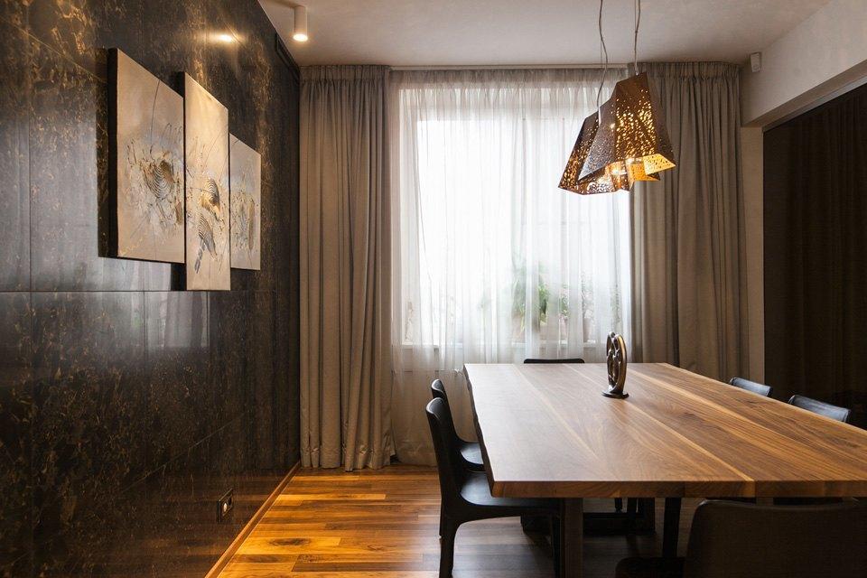 Квартира для семьи  с минималистским интерьером. Изображение № 8.