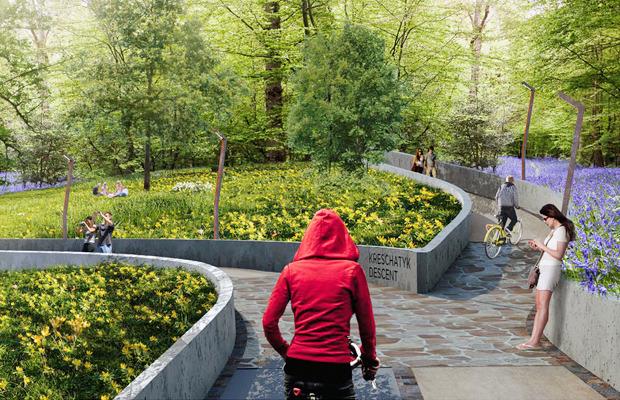 Проект благоустройства Крещатого парка. Изображение № 5.