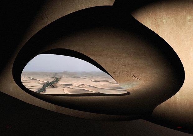 Дизайн от природы: Дом-термитник, жилая дюна и оранжереи в пустыне. Изображение № 13.
