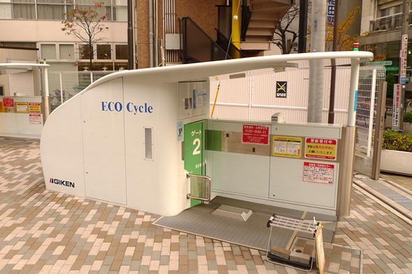Идеи для города: Подземные велопарковки в Японии. Изображение № 13.