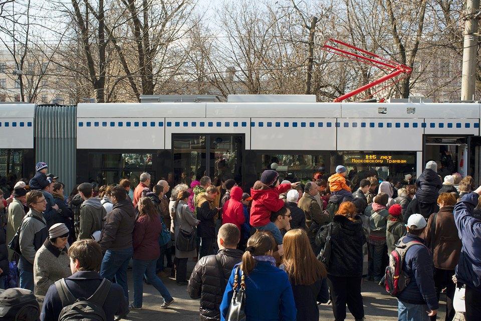 Парад трамваев наЧистыхпрудах. Изображение № 5.