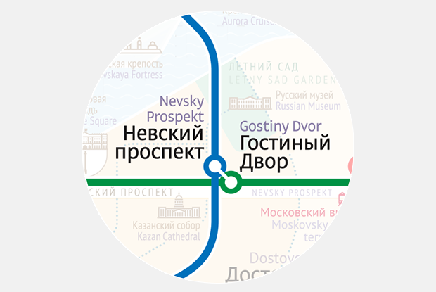 Как выглядит схема петербургского метро от Студии Лебедева. Изображение № 4.