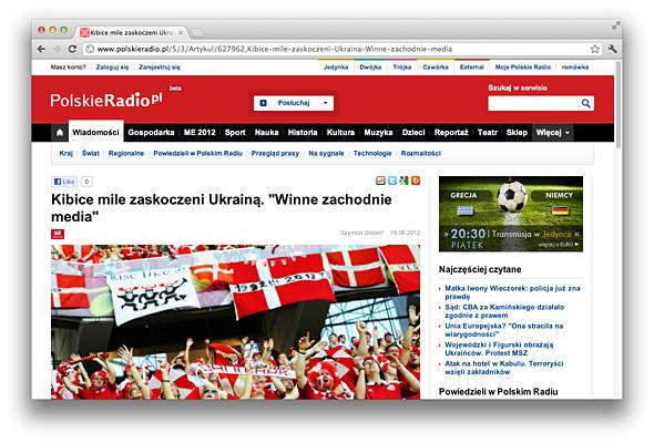 Другим тоном: Иностранные СМИ о Евро-2012 на Украине . Зображення № 1.
