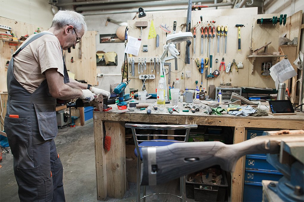 Производственный процесс: Как делают винтовки. Изображение № 24.