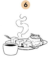 Рецепты шефов: Шашлык из сома на шпажке из розмарина. Изображение № 11.