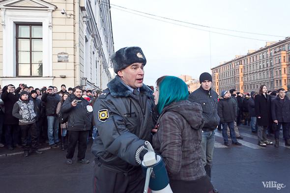 Фоторепортаж: Митинг 5 марта на Исаакиевской площади. Изображение № 13.
