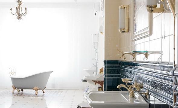 Интерьер квартиры в ЖК «Дом у моря» на Крестовском. Проект находится в стадии реализации.. Изображение № 15.