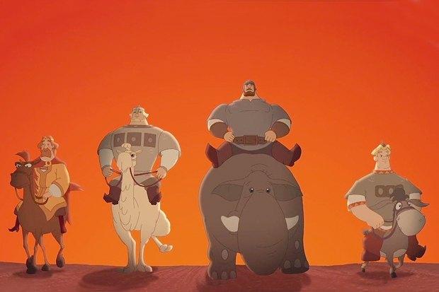 «Три богатыря на дальних берегах», продолжение успешной мультипликационной комедийной серии. Изображение № 4.