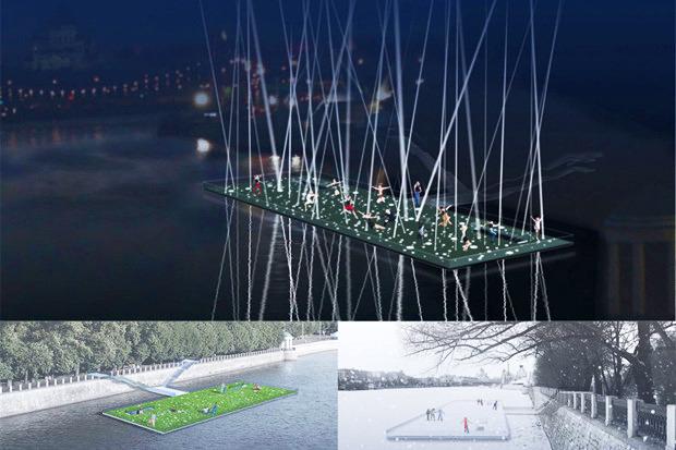 Берега-утопии: Какой могла бы быть Москва-река. Изображение №1.