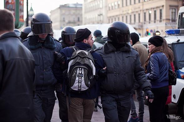 Copwatch (Петербург): Действия полиции на митинге «Стратегии-31». Изображение № 8.
