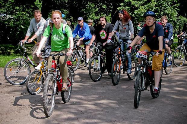Фоторепортаж: Велопробег «За велогород». Изображение № 6.