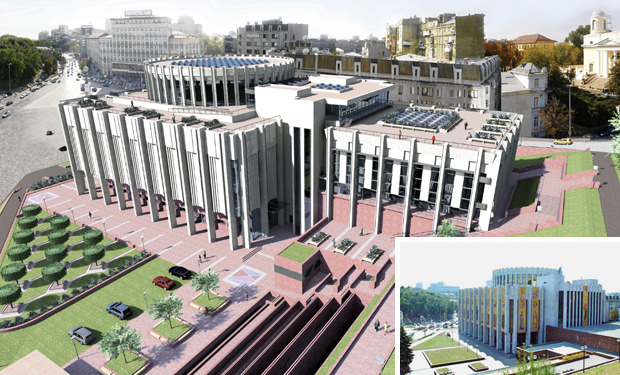 Каким будет «Украинский дом» после реконструкции. Зображення № 2.