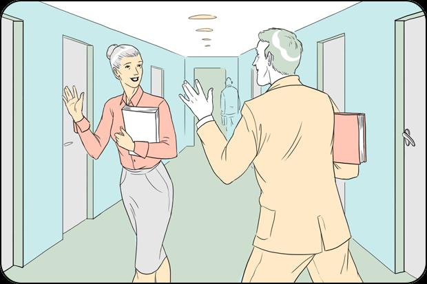 Правила поведения для офисных сотрудников. Изображение № 2.