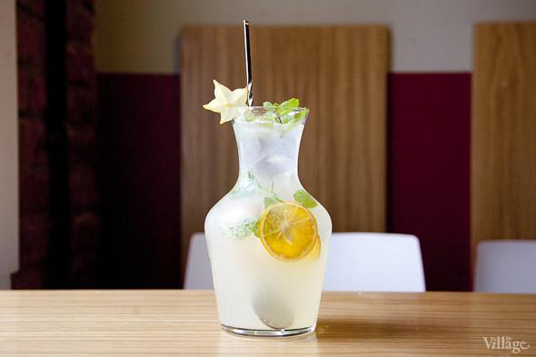 Мандариновый лимонад с мятой —270 рублей за литр. Изображение № 6.
