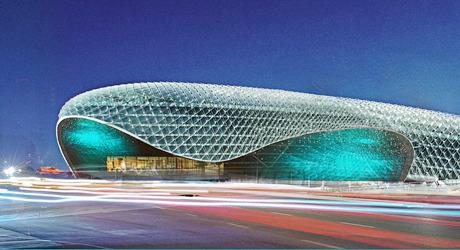 Эскиз нового двухуровневого торгово-развлекательного центра. Изображение № 1.