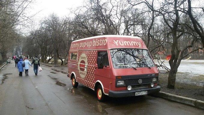 В парке имени Бабушкина появился фургон седой Yummy Sandwich . Изображение № 2.