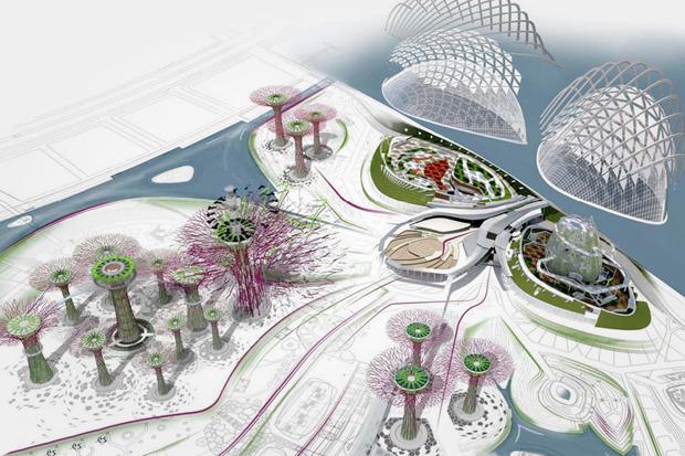 Идеи для города: Механический лес вСингапуре. Изображение №4.